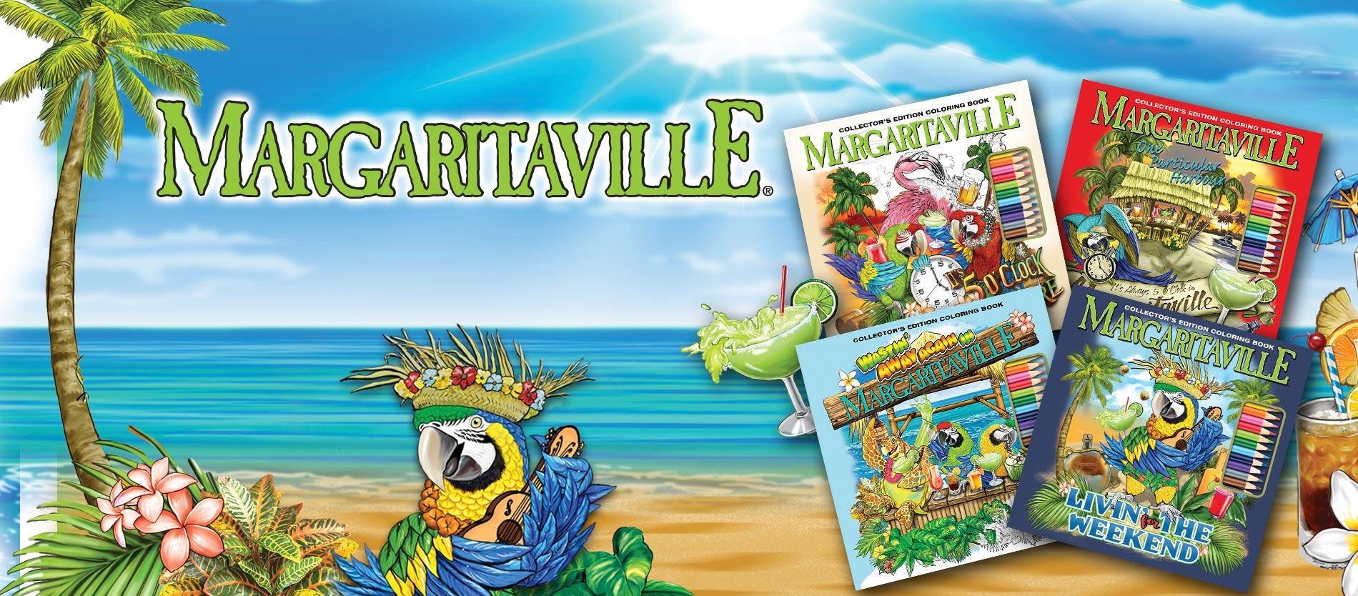 Margaritaville Adult Coloring Book
