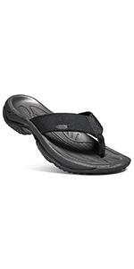 men's konda flip flop water sandal open back