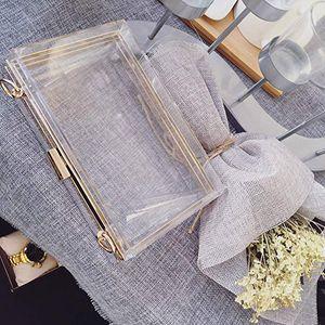 Women Cute Transparent Box