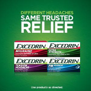 Geltabs, Excedrin PM, Sleep aid pain relief, Headache medicine, Excedrin
