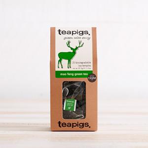box of teapigs mao feng green tea