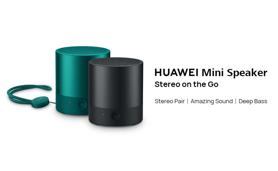HUAWEI Mini Speaker Stereo on the Go Stereo Pair/ Amazing Sound/ Deep Bass