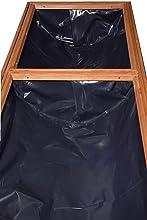 Dobar Rollbares Xxl Hochbeet Aus Holz Mit Boden Fruhbeet Bausatz