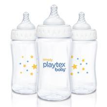 simply baby playtex bottles nipples best preferred easy leak-prook BPA free slow medium fast flow