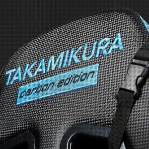Newskill Takamikura Carbon Silla Gaming, Negro [España], piel, reposabrazos, con ruedas, altura ajustable