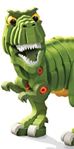 ... Bloco Toys T-Rex Building Construction Toy