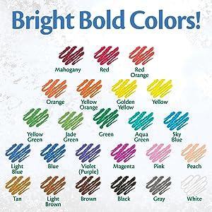 crayola color, crayola colors, pencil colors, colored pencil colors, kids colored pencils