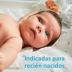 Indicadas para recién nacidos: recomendadas por matronas. Las toallitas ...
