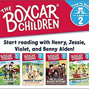 The Boxcar Children Early Reader Set #1 - The Boxcar Children Mysteries Boxed Set #13-16