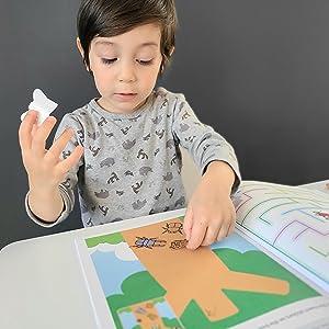 gakken workbooks play smart sticker learning