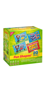 Assorted Sweet Treat Cookie Snack IndividualWrapped Packs Crackers Barnums Animal Chocolate, Chip