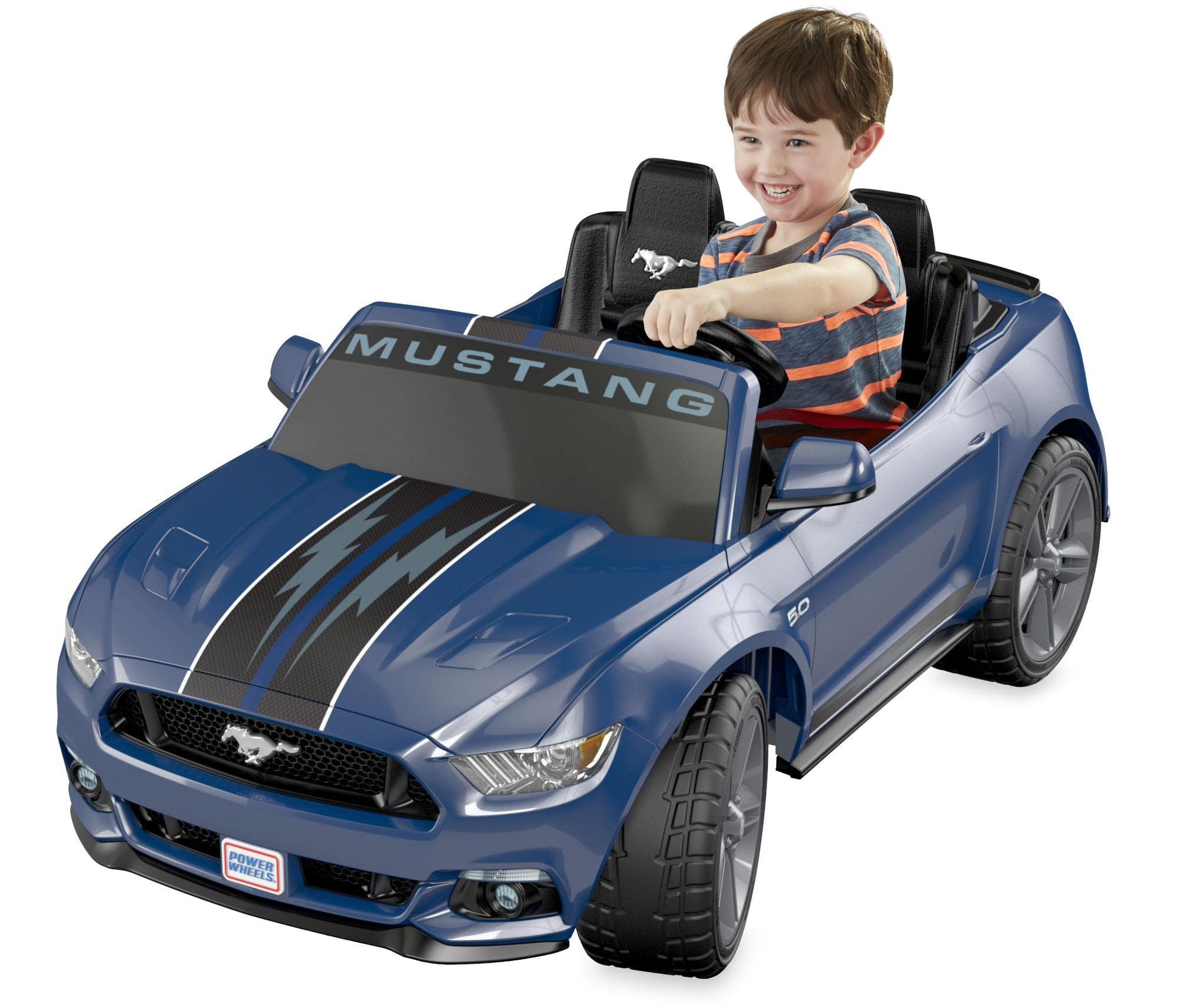 Amazon.com: Power Wheels Ford Mustang, Blue Smart Drive