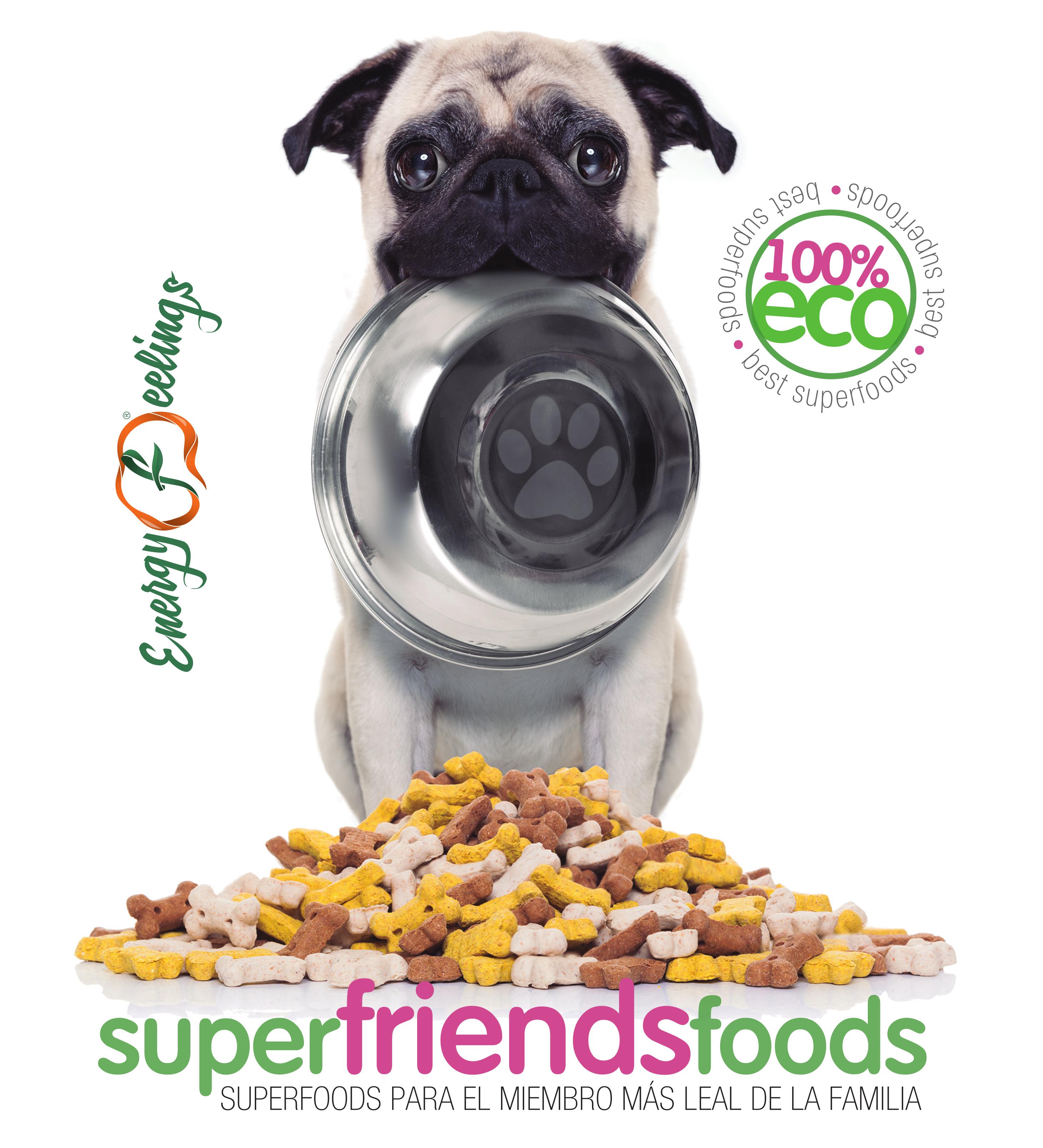 Energy Feelings Superfriends Foods Detox, Cubo - 400 gr