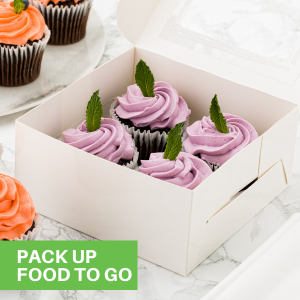These lunch paper boxes can be sealed with lids to easily take your lunch to work.