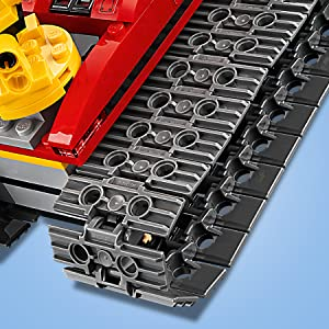 LEGO, city, snow