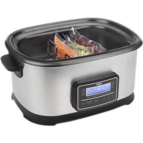Princess 263000 Sous Vide Multicooker y cocina lenta, 1500