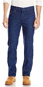 Wrangler Riggs Workwear Flame Resistant Slim Fit Jean