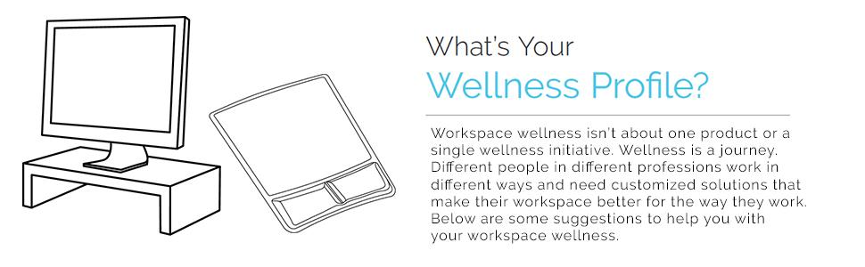 Workspace wellness, workspace, wellness, work, office, cube, ergo, ergonomics, fellowes, desk