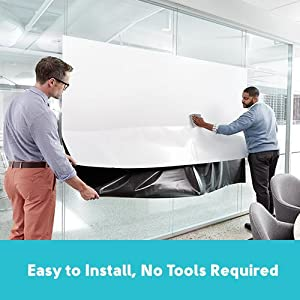Easy to install, no tools required