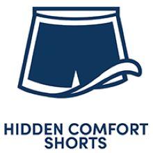boy shorts skort built in undies