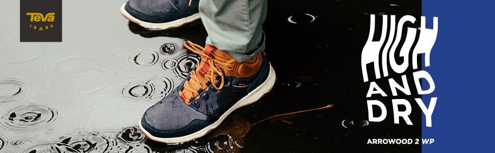 de4c32642 Teva Men s s M Arrowood 2 Mid Wp High Rise Hiking Shoes  Amazon.co ...
