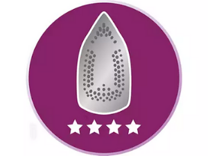 SteamGlide soleplate for superior ironing
