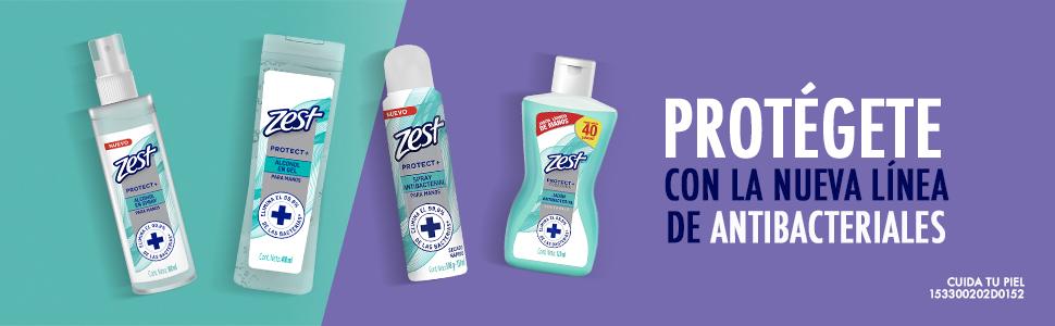 Zest, Protect, Antibacterial