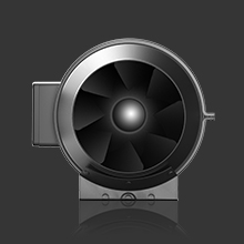 "AC Infinity CLOUDLINE T6, Quiet 6"" Inline Duct Fan with Temperature Humidity Controller - Ventilation Exhaust Fan for Heating Cooling Booster, Grow ..."