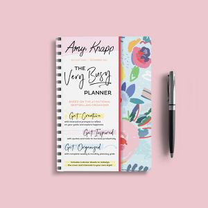 Amazon.com: 2021 Amy Knapp's The Very Busy Planner: 17 ...