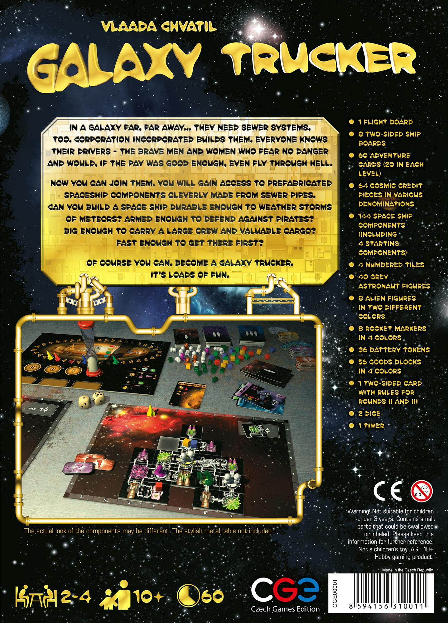 Czech Games Galaxy Trucker Vlaada Chvatil Toys Yellow Circuit Board With Space For Text Gl Stock Images In Each Round The Players Begin By Rummaging Through Warehouse Trying To Grab Best Components And Build Ship