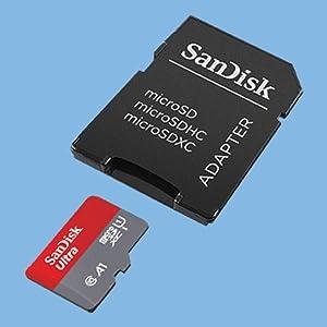 SanDisk Ultra - Tarjeta de memoria microSDXC de 400 GB con adaptador SD, velocidad de lectura hasta 100 MB/s, Clase 10, U1 y A1
