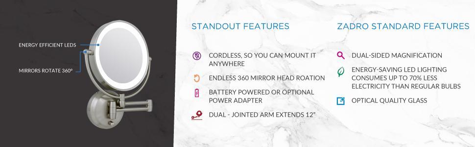 Amazon Com Zadro 10x 1x Magnification Next Generation