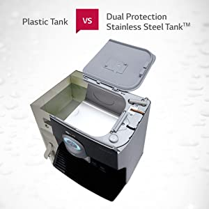 Dual Protection Stainless Steel Tank