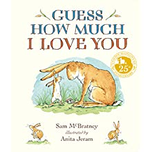 guess how much i love you; nutbrown hare; i love you to the moon and back; baby books; new parents