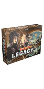 Pandemic Legacy Season 0 board game