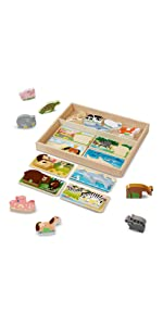 Preschool;Wooden;Toys;classic;toys;skill;building;cognitive;ability