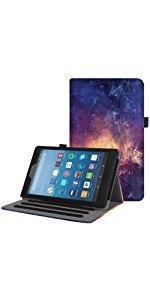Fire HD 8 case kids edition sleeve bag flip folding magnetic Kickstand Shockproof slim shell light