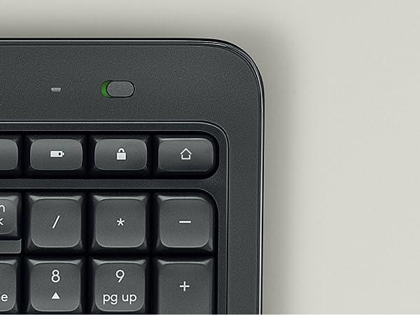 Logitech MK540 Pack Inalámbrico Teclado y Ratón para Windows, 2,4 ...