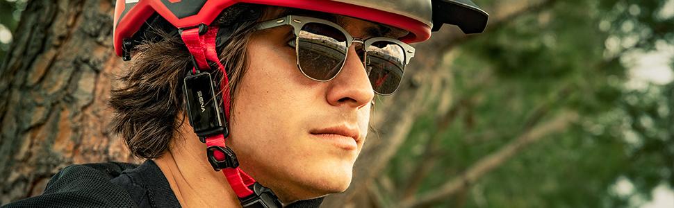 Sena pi cycling helmet headset