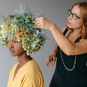 Art of wearable flowers, flowers, florist, design, bridal, jewelry, crafts, book