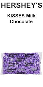 hershey hersheys milk chocolate kisses bag