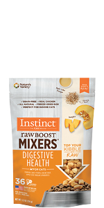 instinct mixers, freeze dried, cat food toppers