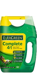 EverGreen Complete 4-in-1 lawn feed weed and moss killer