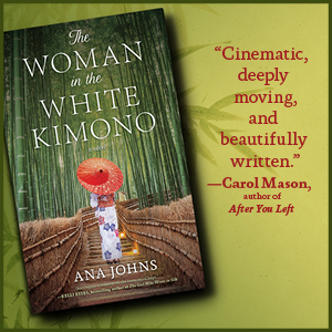 woman in the white kimono ana johns japan historical fiction timeslip world war 2 ii ww