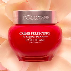 peony perfecting face cream