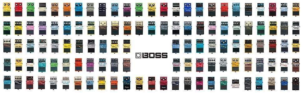 Boss SD-1 Super Overdrive Effektpedal für Gitarre Fußpedal