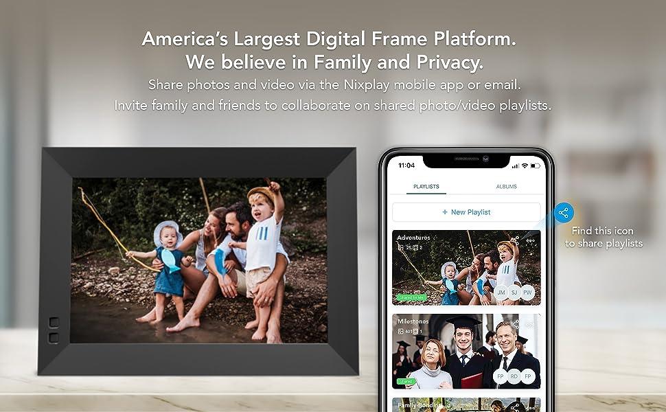 smart photo frame
