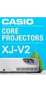 Casio XJ-V2 079767468781 Laser projector LED Hybrid XJ-V2 V2 XGA Lumens HDMI Hybrid core japan LED