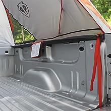 Truck Tent Floorless Design