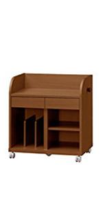 ランドセル 収納 キッズランドセルラック ランドセルらっく ランドセル掛け ラック 棚 キャスター付き 木製 天然木 キッズ家具 きっず家具 こども 子供 SHIRAI 幅63 奥行40 高さ67